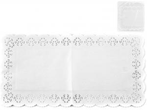Confezione 6 Sottotorta Rettangolare 40x20 Bianco Blute