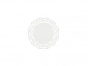 Confezione 24 Sottotorta Cm17 Bianco 1791 Rose