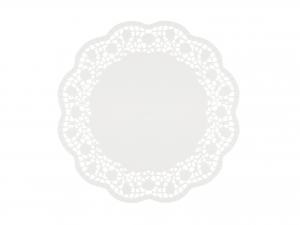 Confezione 12 Sottotorta Cm30 Bianco 3091 Rose