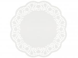 Confezione 12 Sottotorta Cm36 Bianco 3694 Rose