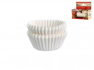 Confezione 200 Pirottini Cm2,6 Bianco 2612