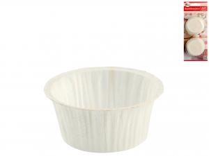 Confezione 20 Pirottini Muffin Bianco 5032