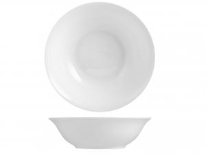 Insalatiera In Porcellana Bone China, ø 23 Cm, Bianco