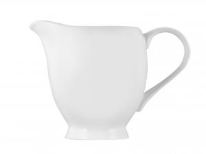 Lattiera In Porcellana Bone China, 260 Ml, Bianco