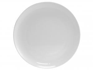 Piatto In Porcellana Bone China, ø 32 Cm, Bianco