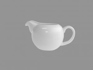 Lattiera In Porcellana Bone China, 270 Ml, Bianco