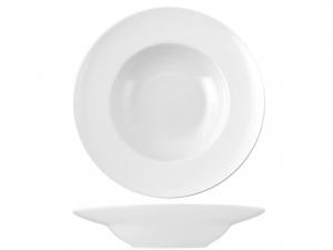 Piatto In Porcellana Bone China, ø 27 Cm, Bianco