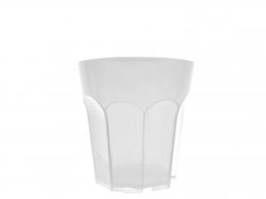6 Bicchieri Movida Poliprop 250 Bianco