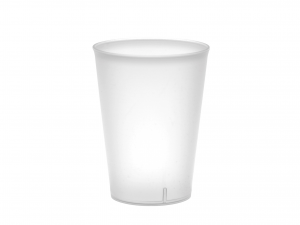 Confezione 20 Bicchieri Polistirene Cc250 Bianco