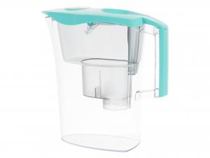 Laica Ufsbe Brocca Filrante Microplastiche, Plastica, Azzurr