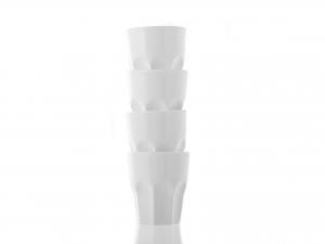 Set 4 Bicchieri Smma Shot Cl04 Bianco