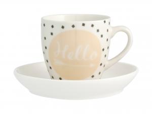 Confezione 6 Tazze Caffe' Nbc Enjoy Cc100 Con Piatto