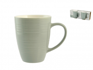 H&h Set 2 Tazze Mug Good Morning Verdi 320cc