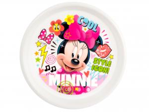 Piatto Piano Minnie Doodle Disney