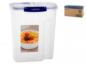 Sistema Klip It Plus Porta Cereali, Polipropilene, 4,2lt