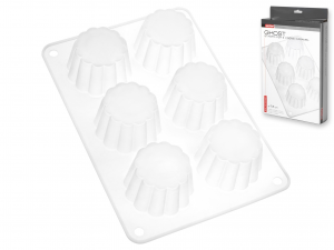 Stampo 6 Bavarese Silicone Ghost    F817