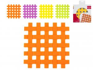 Sotto Pentola Silicone Colore Quadrata 17 F811/2