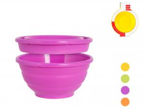 Coppa Silicone Colore Pieghevole Cm16    F5017