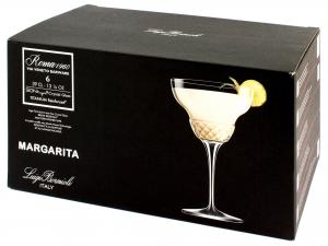 Bormioli Luigi Roma1960 Confezione 6 Calici Margarita, Vetro
