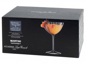 Confezione 6 Calici Speakeasies Martini