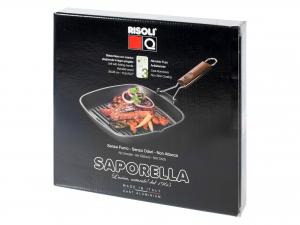 Bistecchiera Antiaderente Saporella 26x26
