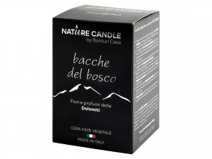 Candela Profumata Bacche Bosco Gr200