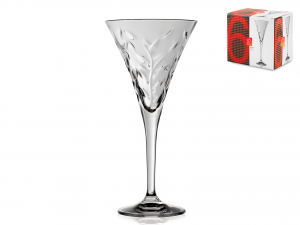Confezione 6 Calici In Vetro Laurus Vino 3   Cl17