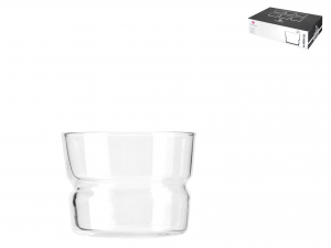 Confezione 6 Bicchieri In Vetro Brera Impilabile Cl22