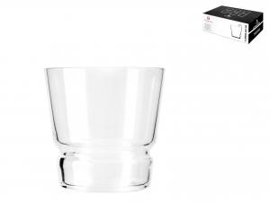 Confezione 6 Bicchieri In Vetro Brera Impilabile Cl35,5