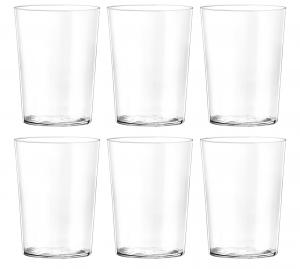 H&h Set 6 Bicchieri In Vetro Starck Bibita Cc 500