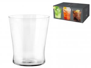 Confezione 6 Bicchieri In Vetro Conica Cc370