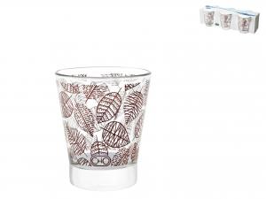Confezione 6 Bicchieri In Vetro Michelle Cl8,5