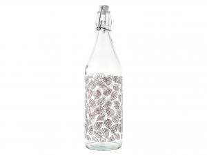 Bottiglia In Vetro Decoro Michelle Lt1