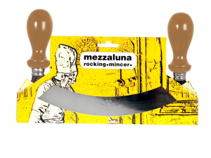 Mezzaluna Inox Man/lgn Scuro