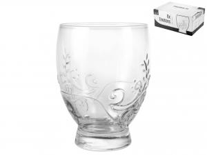 Confezione 6 Bicchieri In Vetro Emotions Cl38