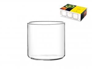 Confezione 6 Bicchieri In Borosilicato Fusion Vino Cc300