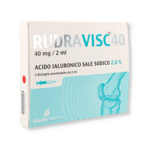 RUDRAVISC 40 - 3 SIRINGHE da 2ML