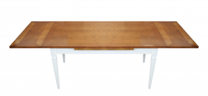 Mesa rectangular bicolor extensible - OFERTA