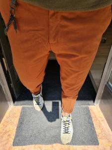 Pantalone ruggine