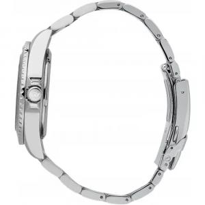Philip Watch Caribe Meccanico automatico, quadrante, nero ghiera ceramica, doppio cinturino