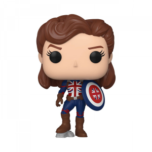 *PREORDER* What If...? POP! 870 Vinyl Figure: CAPTAIN CARTER by Funko
