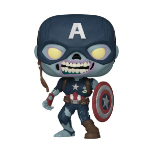 *PREORDER* What If...? POP! 941 Vinyl Figure: ZOMBIE CAPTAIN AMERICA by Funko