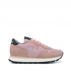 Sneakers Sun68 Ally Thin Glitter Rosa Z41203 04ROSA -A.1