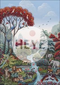 Heye 29958 Exotic Garden -puzzle 2000 pz Wildlife Paradise