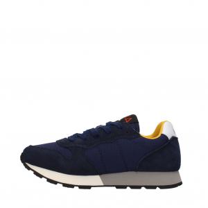 Sneakers Sun68 Boy's Jaki Solid Nylon Navy Blue Z41310 07NAVY -A.1
