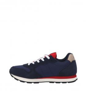 Sneakers Sun68 Boy's Tom Solid Nylon Navy Blue Z41301 07NAVY -A.1