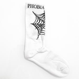 Calze Phobia Ragnatela White