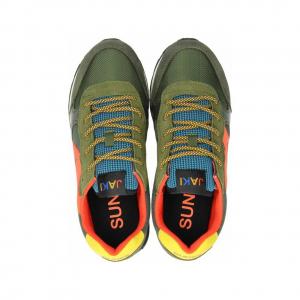 Sneakers Sun68 Boy's Jaki Party Time Z41313 74MILITARE -A.1