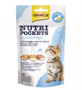 GimCat - Nutri Pockets - Junior Mix - 60 gr
