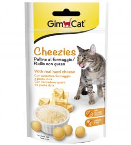 GimCat - Tabs - Cheezies - 50 gr